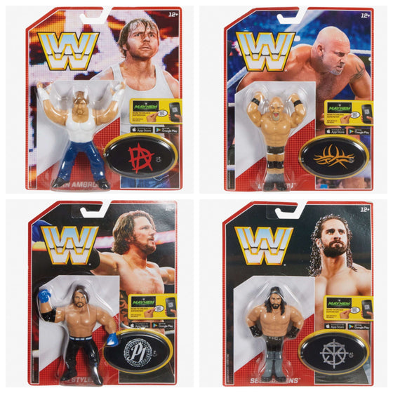 WWE Retro Figures Series 3 - Set of 4