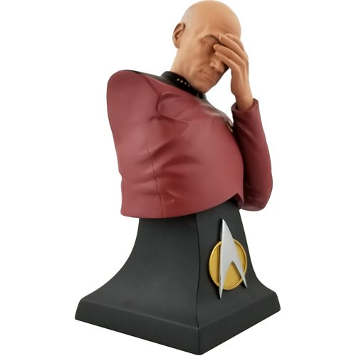 Star Trek: The Next Generation Picard Facepalm Limited Edition Bust - San Diego Comic-Con 2020 Previews Exclusive - AUGUST 2020