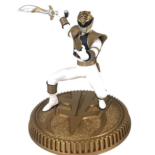 Mighty Morphin Power Rangers White Ranger 1:8 Scale Statue - MARCH 2021