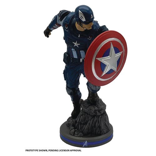 Marvel Gamerverse Avengers Captain America 1:10 Scale Statue - NOVEMBER 2020