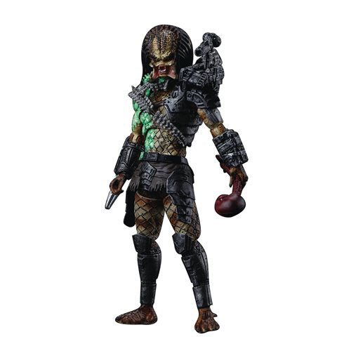 Predator Battle Damage Jungle Predator 1:18 Scale Action Figure - Previews Exclusive - OCTOBER 2020