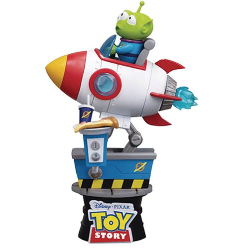 Toy Story D-Stage DS-036 Alien Coin Ride PX Previews Exclusive Statue - FEBRUARY 2020