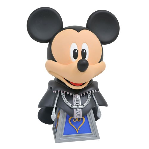 Kingdom Hearts Legends in 3D Organization XIII Mickey 1:2 Scale Bust - FEBRUARY 2021
