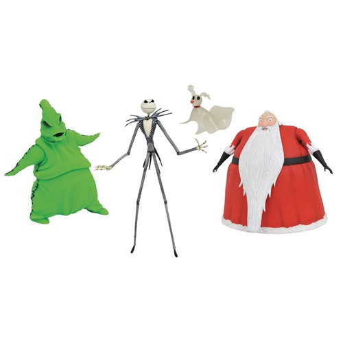 Nightmare Before Christmas Lighted Action Figure Box Set - San Diego Comic-Con 2020 Previews Exclusive - AUGUST 2020