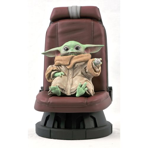 Star Wars The Mandalorian Child in Chair 1:2 Scale Statue - JANUARY 2021