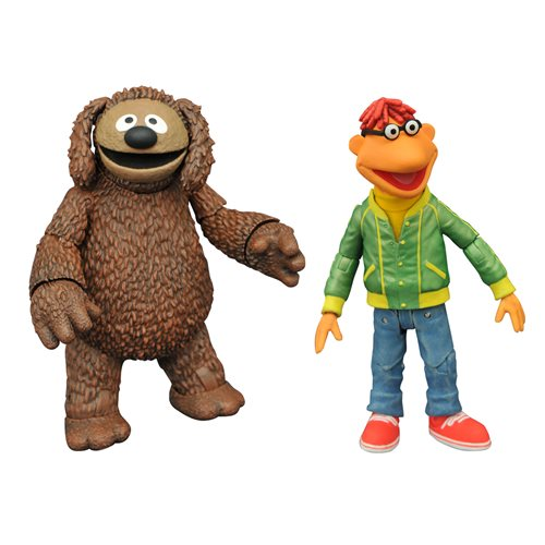 Muppets Best Of Series 1 Scooter & Rowlf Action Figure 2-Pack - JANUARY 2021