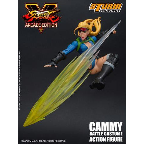 Street Fighter V Cammy Battle Costume 1:12 Scale Action Figure - OCTOBER 2019