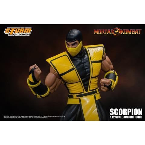 Mortal Kombat Scorpion 1:12 Scale Action Figure - DECEMBER 2019