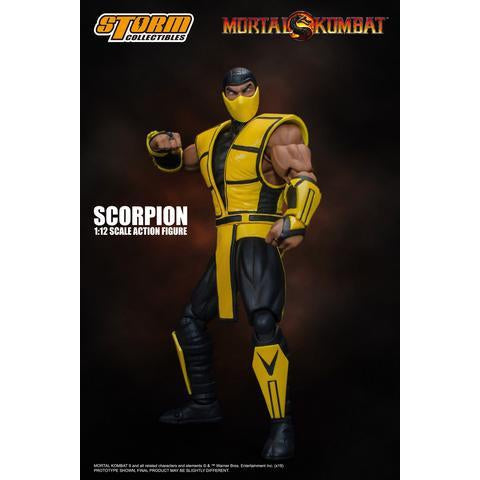 Mortal Kombat Scorpion 1:12 Scale Action Figure - Q1 2020
