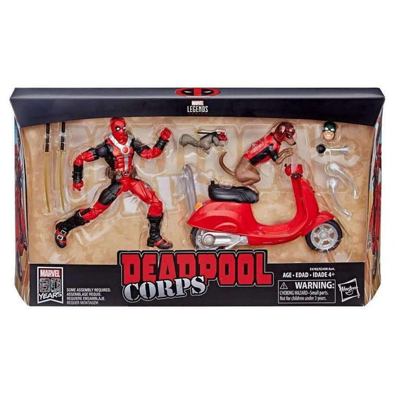 Marvel Legends Ultimate Deadpool with Dogpool and Scooter - BACKORDERED FEBRUARY 2019