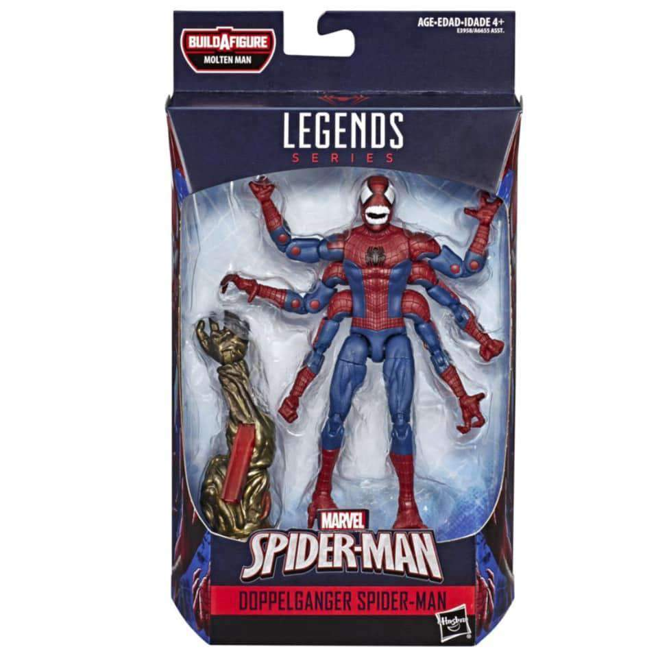 Amazing Spider-Man Marvel Legends Wave 12 - Doppelganger Spider-Man - MAY 2019