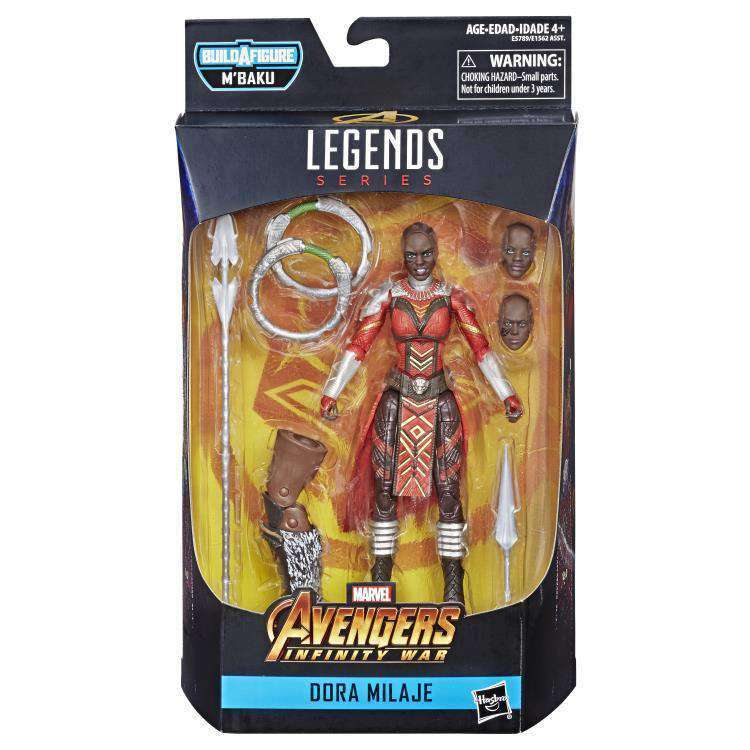 Black Panther Marvel Legends Wave 2 (M'Baku BAF) - Dora Milaje