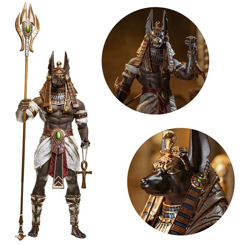 Anubis Guardian of The Underworld 1:12 Scale Action Figure - DECEMBER 2020
