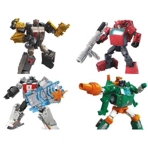 Transformers Generations War For Cybertron Earthrise Deluxe Wave 1 - Set of 4