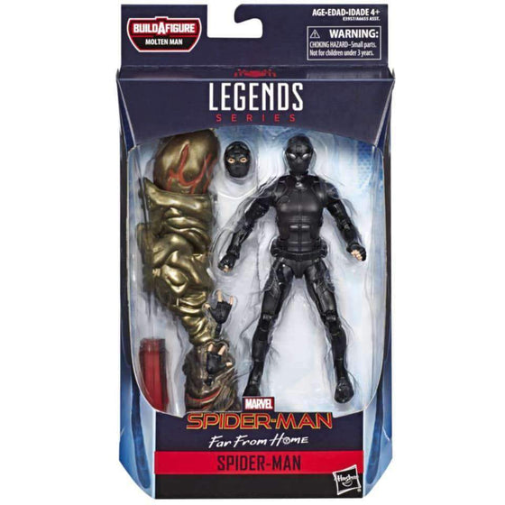 Amazing Spider-Man Marvel Legends Wave 12 - Spider-Man (FFH Black Movie Suit) - MAY 2019