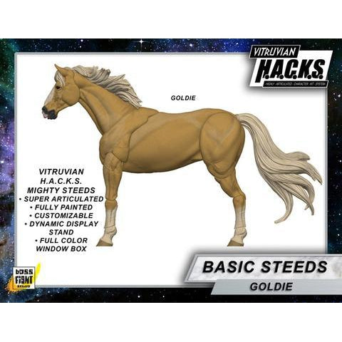 Vitruvian H.A.C.K.S. Mighty Steeds - Goldie