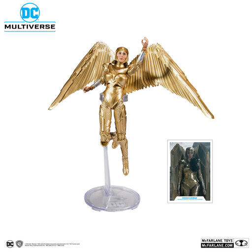 "DC Multiverse Wonder Woman 1984 7"" Scale Action Figures - Wonder Woman (Gold Armor) - APRIL 2020"