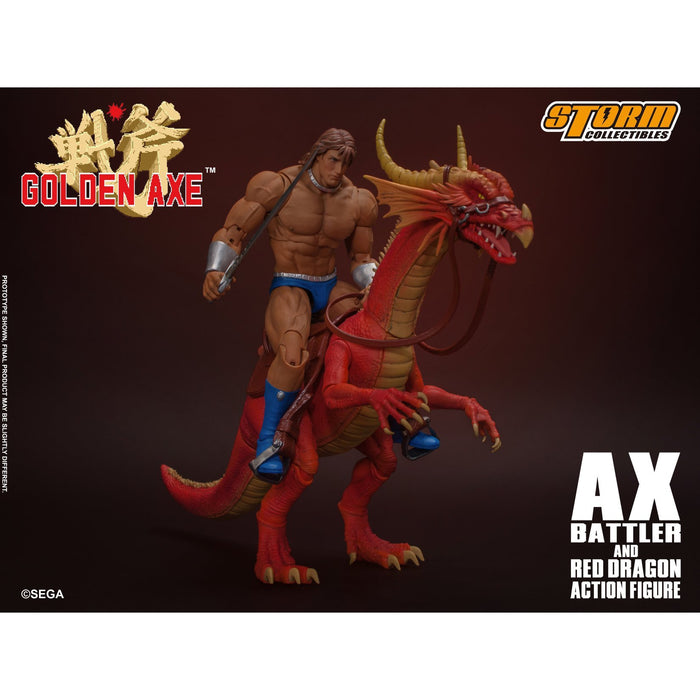 Golden Axe – Ax Battler and Red Dragon 1:12 Scale Set - Q1 2020