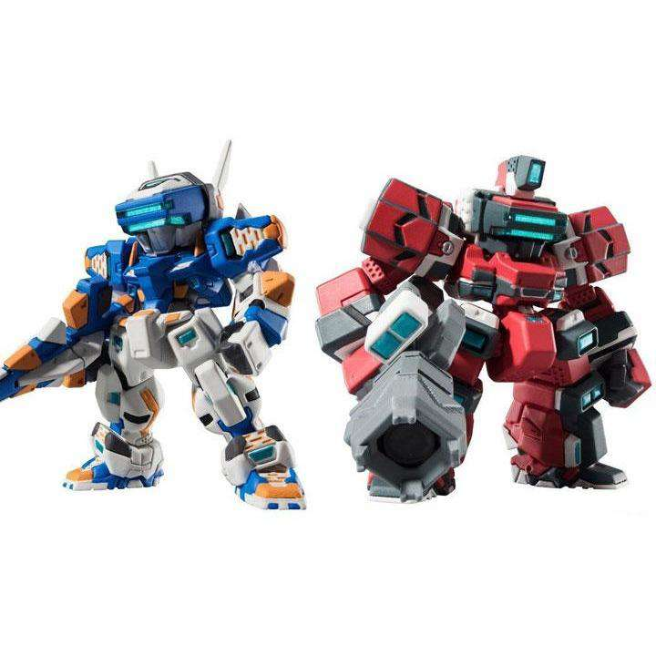 Gundam FW Gundam Converge: Mechanics Cyber Troopers Temjin & Raiden Exclusive Set - AUGUST 2018