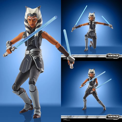 "Star Wars Figures - 3.75"" Vintage Collection - The Clone Wars - Ahsoka Tano (Mandalore) - JULY 2021"