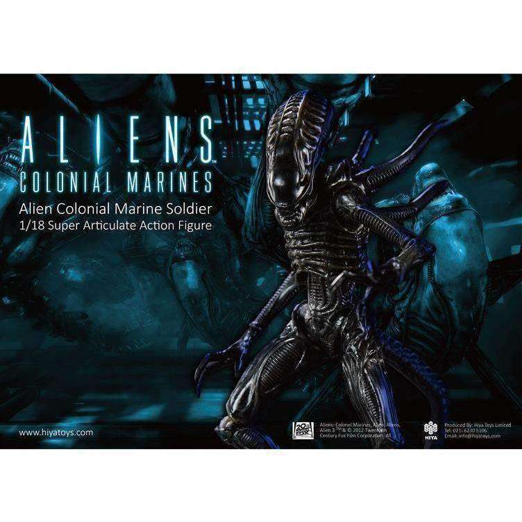 Aliens: Colonial Marines - 1:18 Scale Alien Soldier Action Figure - AUGUST 2018