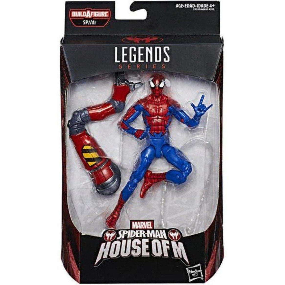 Spider-Man Marvel Legends Wave 10 (SP//DR BAF) - Spider-Man (House of M)