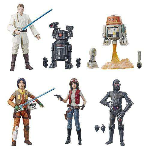 "Star Wars: The Black Series 6"" Wave 21 - Set of 6 - JULY 2019"