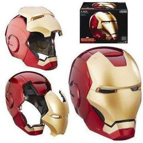 Marvel Legends Iron Man Electronic Helmet (DAMAGED BOX)
