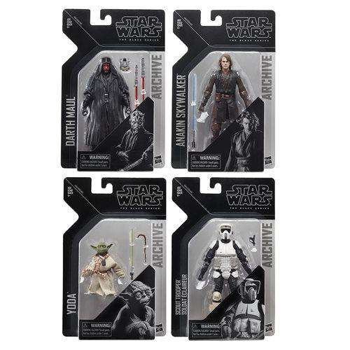 Star Wars The Black Series Archive Action Figures Wave 2 - Complete Set of 4 - AUGUST 2019
