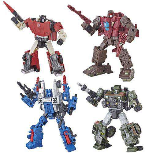 Transformers: Generations - War for Cybertron Siege Deluxe Wave 1 - Complete Set of 4