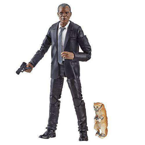 Captain Marvel (Kree Sentry BAF) Marvel Legends Wave 1 - Nick Fury