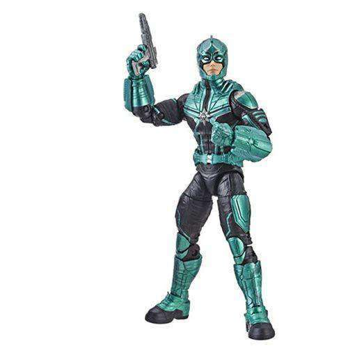 Captain Marvel (Kree Sentry BAF) Marvel Legends Wave 1 - Starforce Commander