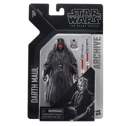 Star Wars The Black Series Archive Action Figures Wave 2 - Darth Maul - AUGUST 2019