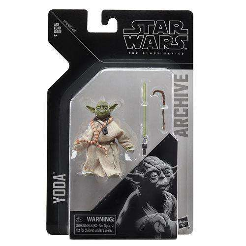 Star Wars The Black Series Archive Action Figures Wave 2 - Yoda - AUGUST 2019