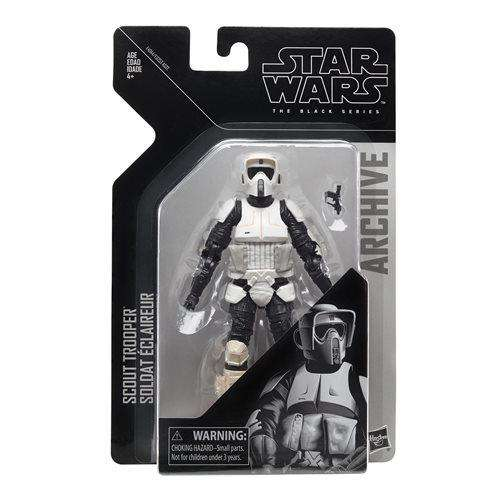 Star Wars The Black Series Archive Action Figures Wave 2 - Biker Scout