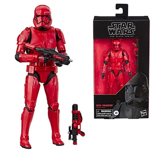 Star Wars: The Rise of Skywalker The Black Series Sith Trooper 6-Inch Action Figure - SEPTEMBER 2019