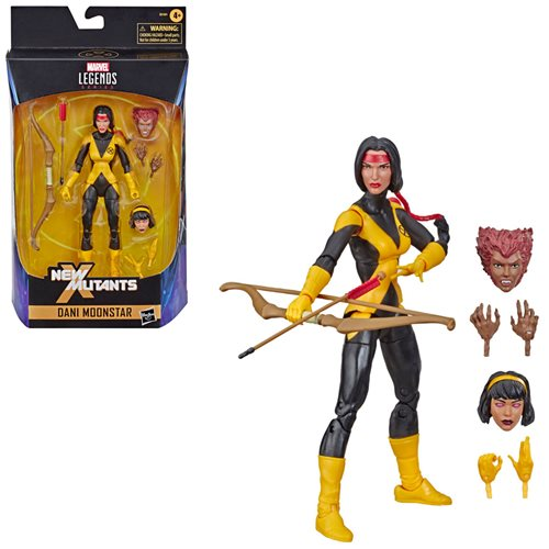 X-Men Marvel Legends New Mutants Dani Moonstar 6-Inch Action Figure - Exclusive - MARCH 2021