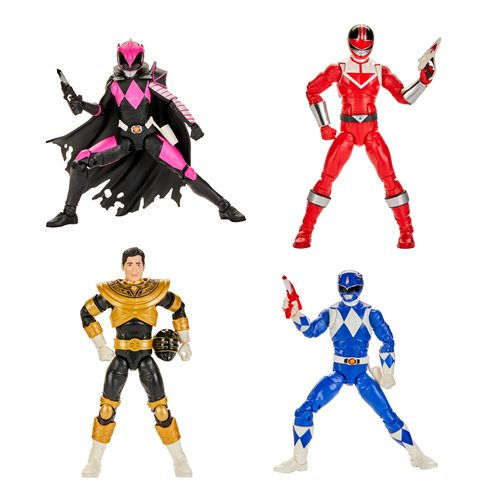 Power Rangers Lightning Collection Wave 5 - 6-Inch Action Figure Set of 4 - JUNE 2020