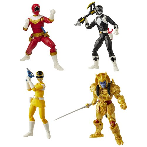 Power Rangers Lightning Collection 6-Inch Figures Wave 6 set of 4 - OCTOBER 2020