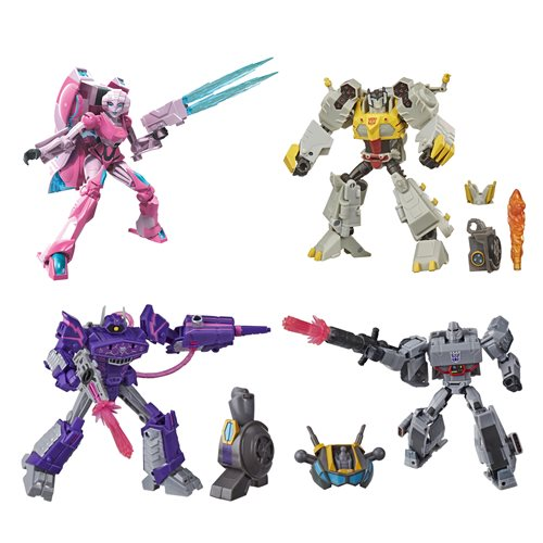 Transformers Cyberverse Deluxe Wave 3 - Set of 4 - JUNE 2020