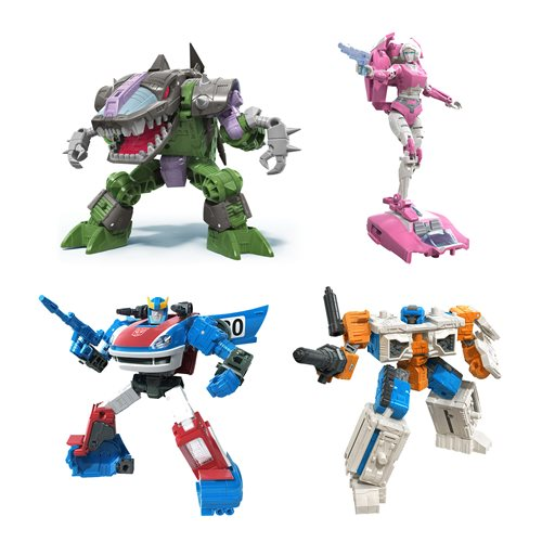 Transformers Generations War for Cybertron Earthrise Deluxe Wave 2 - Set of 4 - JULY 2020