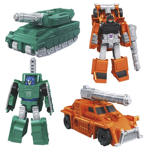 Transformers Generations War for Cybertron: Earthrise Bombshock & Decepticon Growl Micromasters 2-Pack