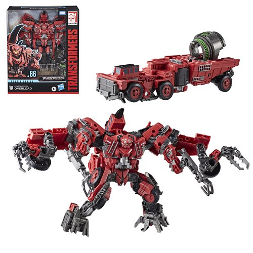 Transformers Studio Series Premier Leader Wave 5 - Overload - AUGUST 2020