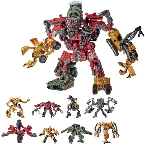 Transformers Studio Series Revenge of the Fallen Devastator Constructicon Combiner Set - DECEMBER 2020