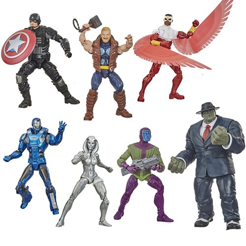 Avengers Video Game Marvel Legends Action Figures Wave 2 Set of 6 - OCTOBER 2020