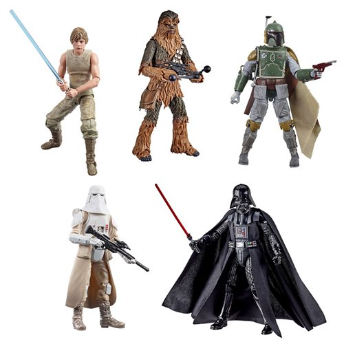 Star Wars Black Series ESB 40th Anniv. 6-Inch Figures Wave 3 Set of 5 - SEPTEMBER 2020
