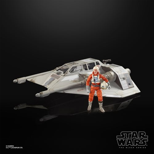 Star Wars The Black Series Empire Strikes Back 40th Anniversary 6-Inch Scale Snowspeeder Deluxe Vehicle - JULY 2020