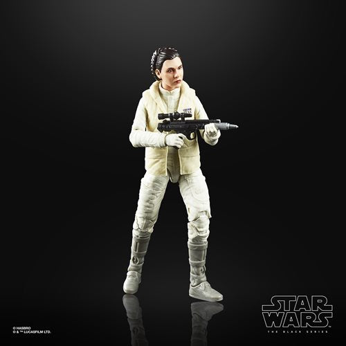 Star Wars The Black Series Empire Strikes Back 40th Anniversary 6-Inch Princess Leia Hoth Action Figure Wave 1