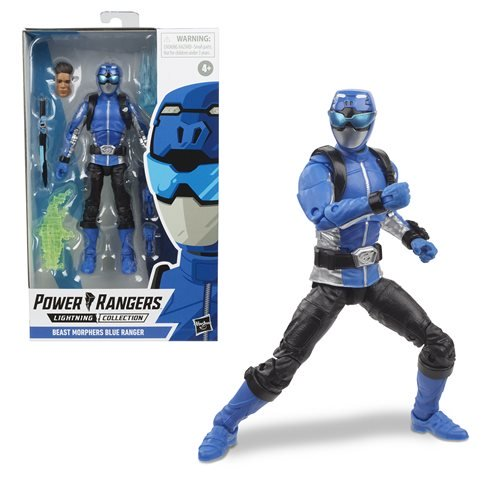 Power Rangers Lightning Collection Wave 3 Beast Morphers Blue Ranger 6-Inch Action Figure