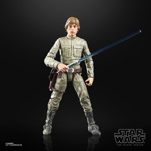 Star Wars The Black Series Empire Strikes Back 40th Anniversary 6-Inch Luke Skywalker Bespin Action Figure Wave 1